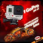 Castiga zilnic o camera video sport GoPro Hero 3+
