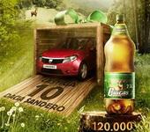 Castiga 10 masini Dacia Sandero si 120.000 de baxuri de bere Ciucas