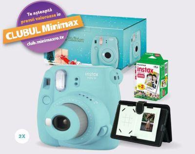 Câștigă 2 aparate foto instant Fujifilm