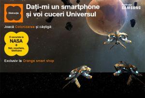 Câștigă 6 smartphone-uri Samsung Galaxy S9 sau o excursie la NASA pentru 2 persoane