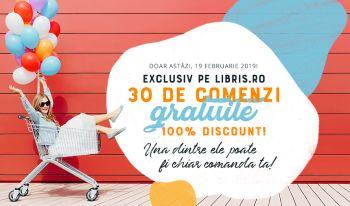 100% reducere la cărți pe LIBRIS