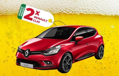 Câștigă 2 mașini Renault Clio 4 Life Evo