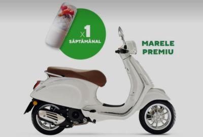 Câștigă un scuter Vespa Primavera 50 4T3V