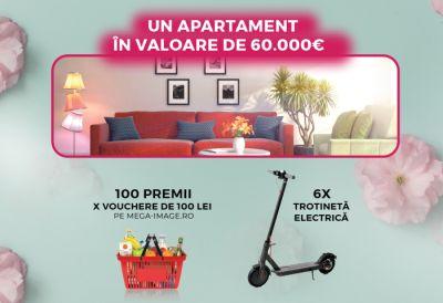 Câștigă un apartament în valoare de 60.000 euro