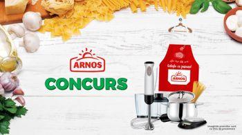 Câștigă 126 seturi de bucătărit Arnos