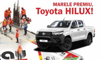 Câștigă o mașină Toyota Hilux