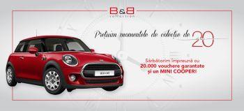 Câștigă o mașină Mini Cooper One