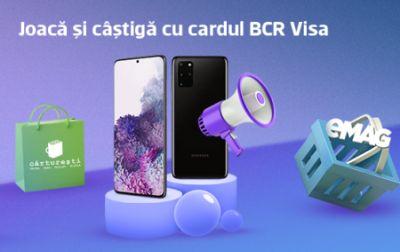 Câștigă 10 telefoane mobile Samsung Galaxy S20 Plus