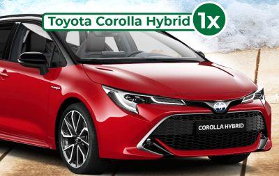 Câștigă o mașină Toyota Corolla Hybrid