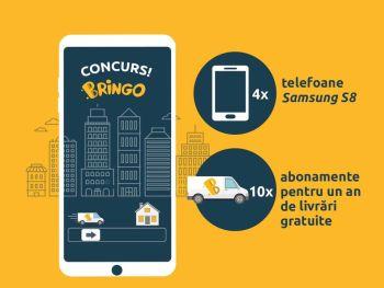 Câștigă 4 telefoane mobile Samsung Galaxy S8
