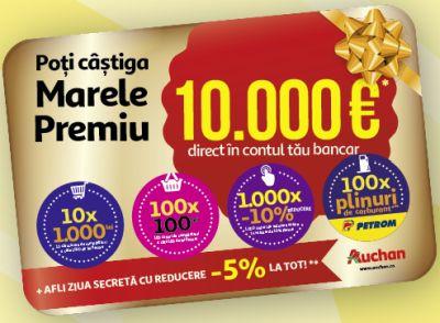 Câștigă 10.000 de euro