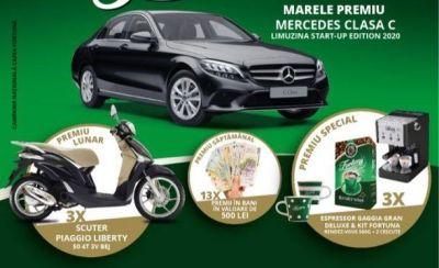 Câștigă o mașină Mercedes-Benz C180