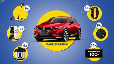 Câștigă o mașină Mazda CX-3