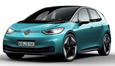Câștigă 8 mașini electrice Volkswagen ID.3