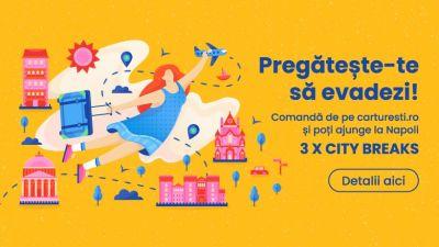 Câștigă 3 city break-uri la Napoli