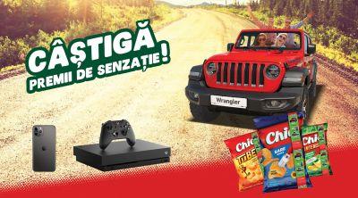 Câștigă o mașină Jeep Wrangler Rubicon Unlimited