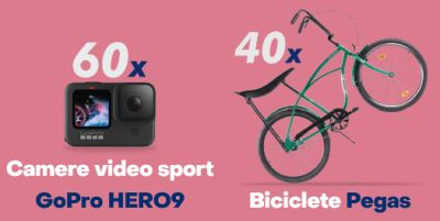 Câștigă 60 camere video sport GoPro Hero 9