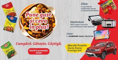 Câștigă o mașină Dacia Duster Prestige 4x4