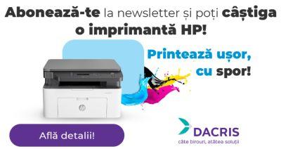 Câștigă o imprimantă multifuncțională HP Laser 135A