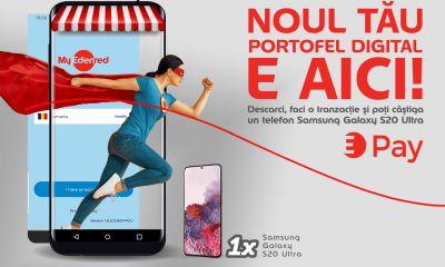 Câștiga un smartphone Samsung Galaxy S20 Ultra