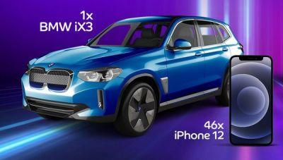 Câștigă o mașină electrică BMW iX3