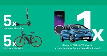 Câștigă o mașină electrică Renault Zoe