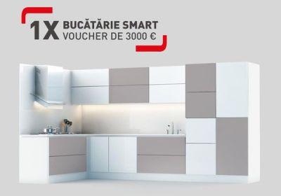 Câștigă o bucătărie în valoare de 3.000 euro