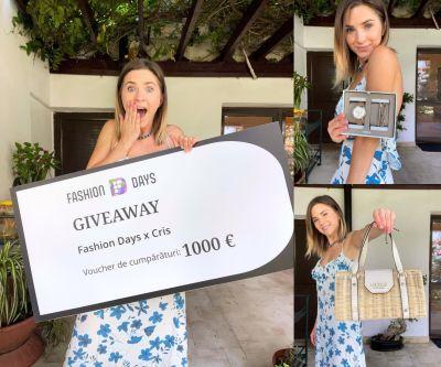Câștigă un voucher Fashion Days în valoare de 1.000 euro