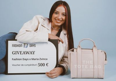 Câștigă un voucher Fashion Days în valoare de 500 euro