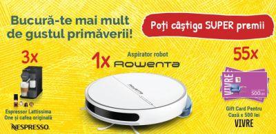 Câștigă un aspirator robot Rowenta Explorer S60 Allergy