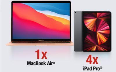 Câștigă un laptop Apple MacBook Air