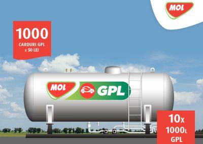 Câștigă 10 x 1.000 de litri GPL