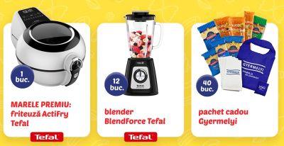 Câștigă o friteuză Tefal ActiFry Genius XL