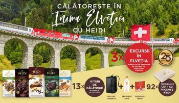 Câștigă 3 vacanțe în Elveția