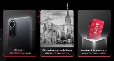 Câștigă 13 telefoane mobile Huawei Nova 9
