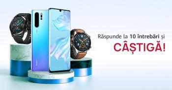Câștigă un smartphone Huawei P30 Pro