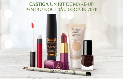 Câștigă un kit de make-up Bottega Verde