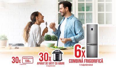 Câștigă 6 combine frigorifice Heinner HC-V268A+