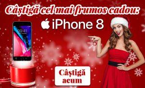 Câștigă un smartphone Apple iPhone 8 64GB