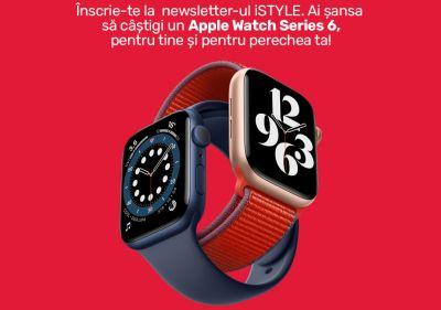 Câștigă câte un Apple Watch Series 6 pentru tine și pentru perechea ta