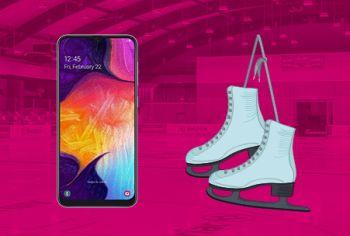 Câștigă 21 telefoane mobile Samsung Galaxy A50 128GB