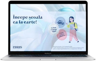 Câștigă un laptop Apple MacBook Air 13 M1