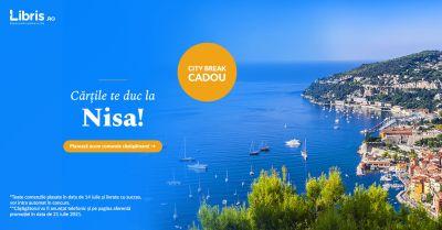 Câștigă un city break în doi, pentru 3 nopți, la Nisa în Franța