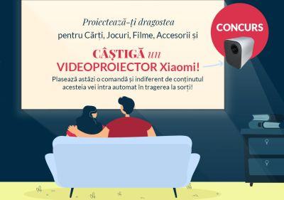 Câștigă un videoproiector Xiaomi Mi Smart Compact