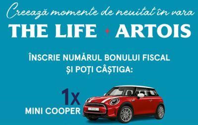Câștigă o mașină Mini Cooper