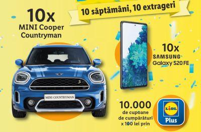 Câștigă 10 mașini Mini Cooper Countryman