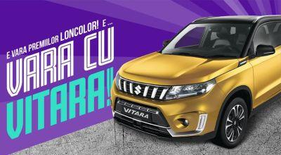 Câștigă o mașină Suzuki Vitara Hybrid