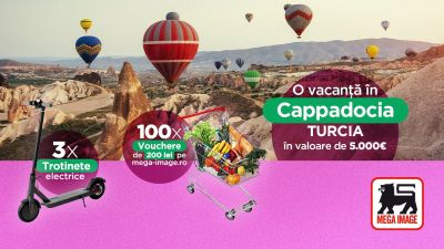 Câștigă o vacanță în Cappadocia, Turcia