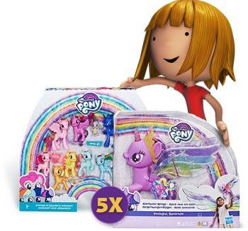 Câștigă 5 seturi My Little Pony