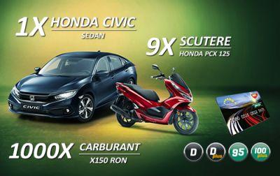Câștigă o mașină Honda Civic Sedan